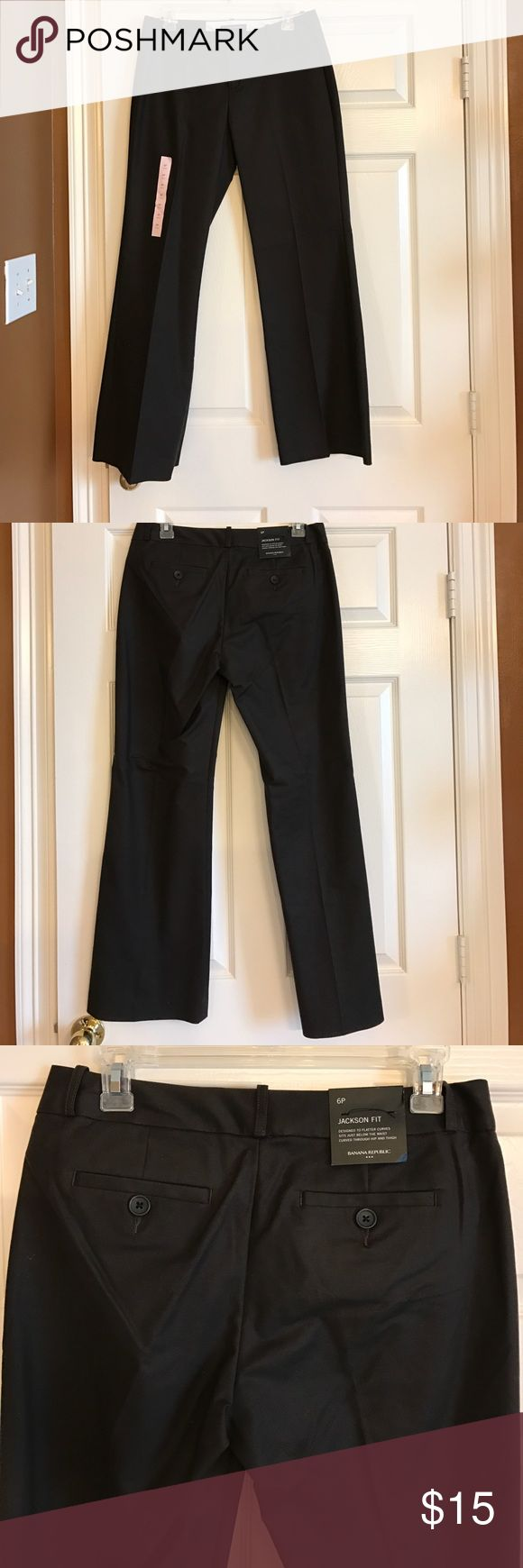 NWT Banana Republic brown slacks Size 6 PETITE NWT Banana Republic brown slacks Size 6 PETITE NEVER WORN! Make offers! Banana Republic Pants Trousers