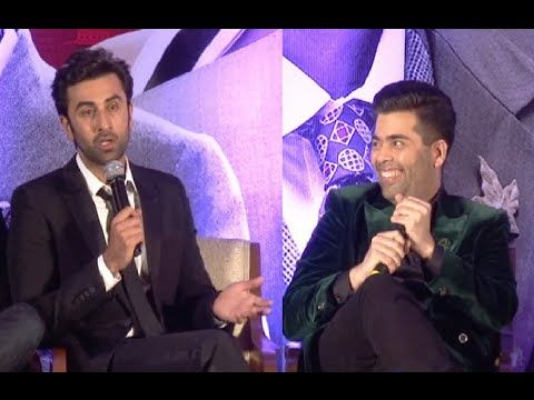 CHECKOUT Ranbir Kapoor and Karan Johar's funny reaction to a stupid media question.  See the video at : https://youtu.be/CZXA2rNr3aE #ranbirkapoor #karanjohar