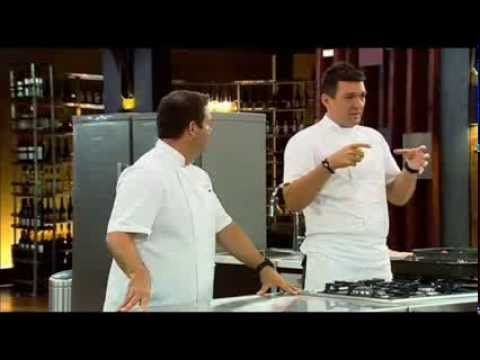 Masterchef Australia - Masterclass veal stock and sauces - YouTube