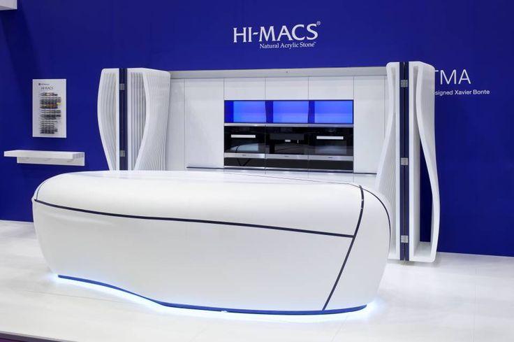 the kitchen of the future: LG Hausys' HI-MACS® | Design Diffusion - Design Projects