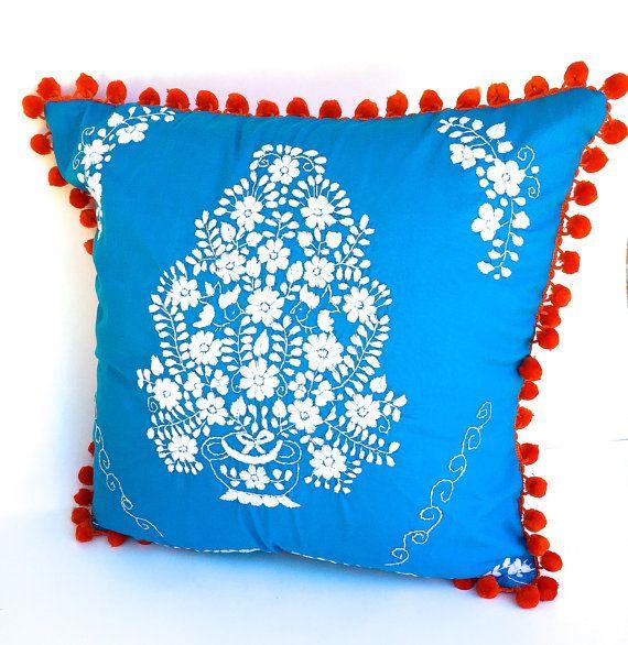 die besten 25 mexikanische kissen ideen auf pinterest bunte kissen mexikanischer. Black Bedroom Furniture Sets. Home Design Ideas