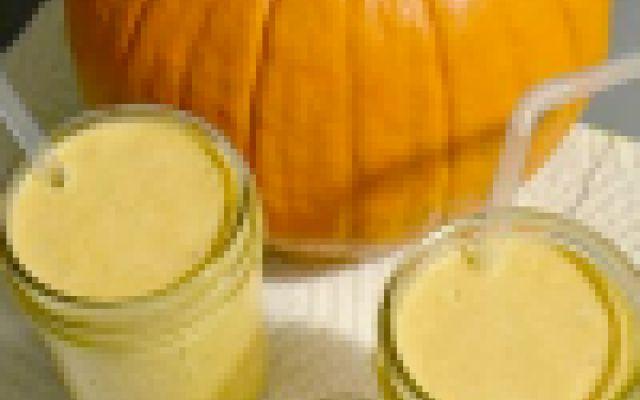 Frullato proteico di zucca e banana #frullato #zucca #banana #proteine #frutta