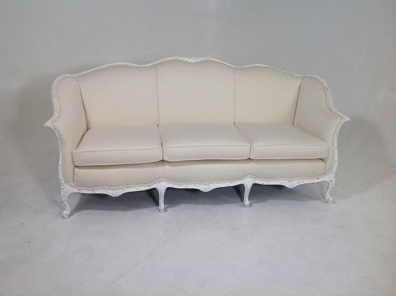 Antique Shabby Chic Coutry French Sofa By ModernFusion On Etsy
