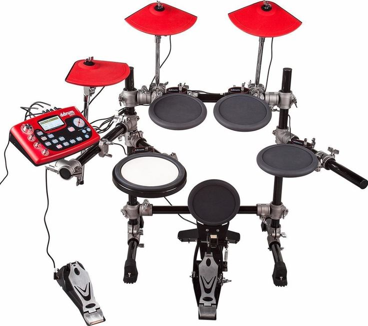 ddrum DD3X 5-Piece Electronic Drum Kit Set With Cymbals And Hardware