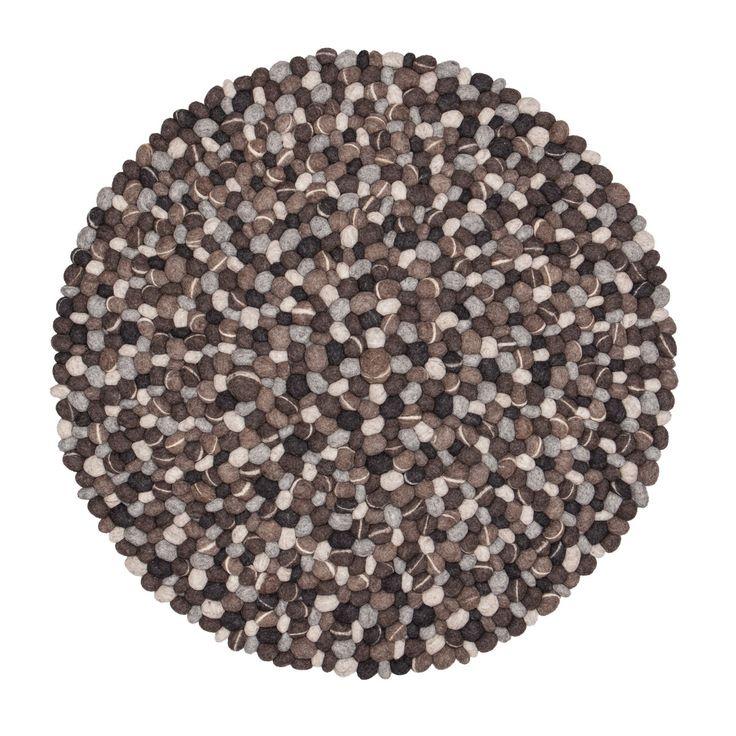 myfelt - Hardy Teppich Rund, 200 cm