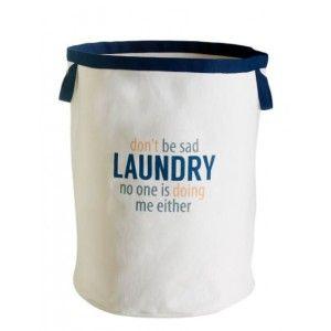 RetroKitchen Don't Be Sad Laundry Bag