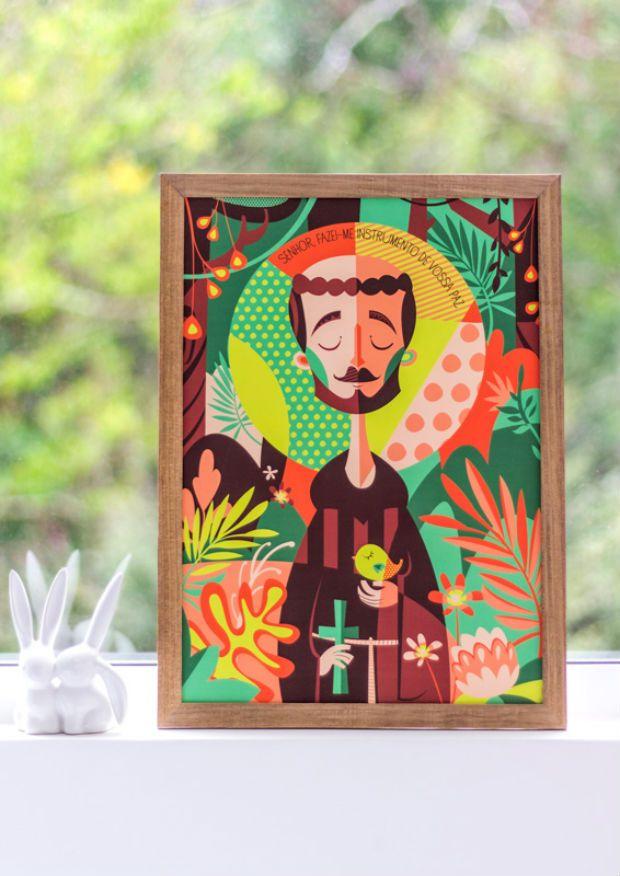 Borogodó: ilustrações tupiniquins trazem muitas cores, design e santos!