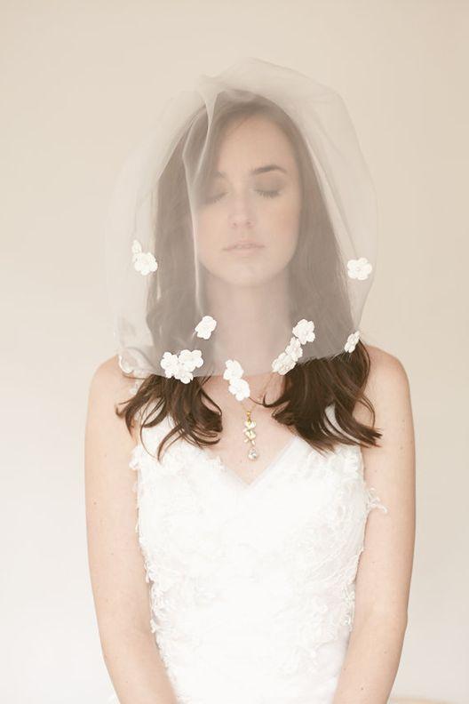 Veil des Fleur Veils and Halos: A Chloris Couture Love