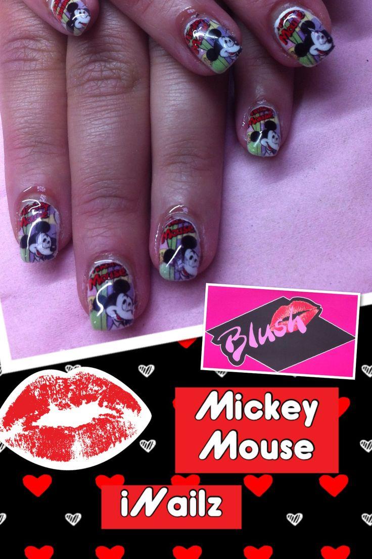 Mickey Mouse iNailz