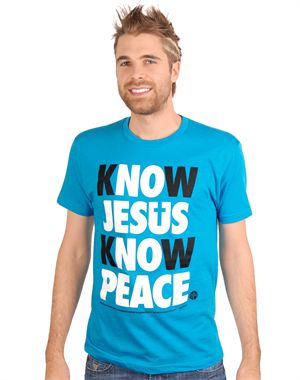 The Know Jesus shirts