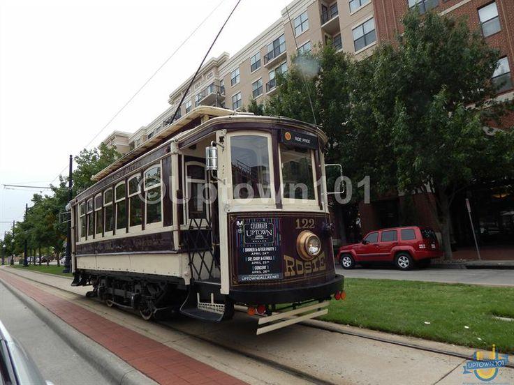 Goes throughout Uptown Dallas. Uptown Dallas Trolley - #UptownDallasTrolley