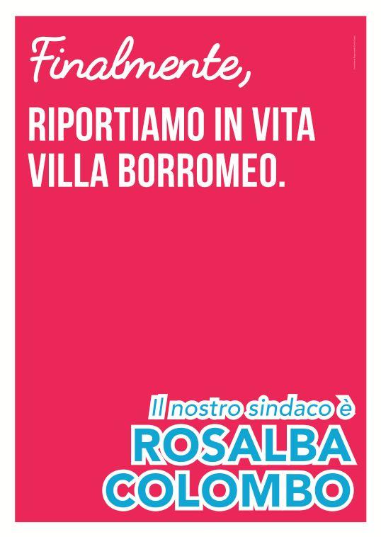 Rosalba Colombo Sindaco, amministrative 2016 // art direction