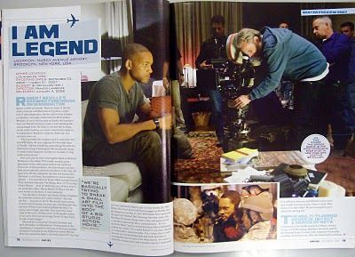 Image result for magazine movie double page spread
