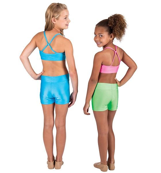 Child Adjustable Loop Back Bra Top - Style Number: N8643C