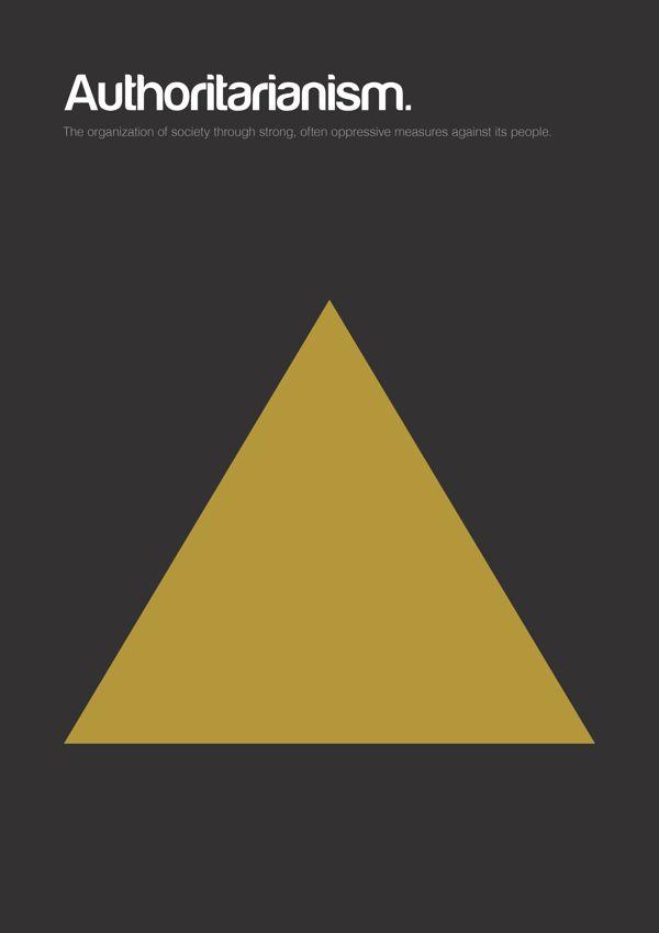 Philographics, big ideas in simple shapes - Authoritariasnism