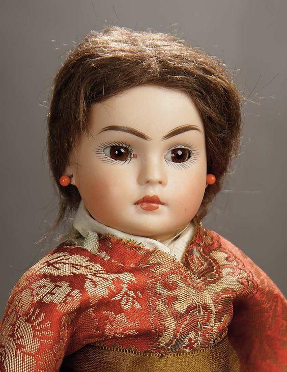 Sonneberg ..... Mold 209 ..... Asian child ..... Rare .....