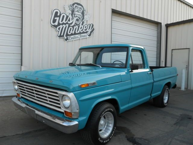 Inventory gas monkey garage 1970 ford f 100 american for Garage ford belley 01