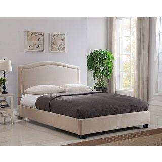 Mantua Abbotsford King/ California King Taupe Bed | Overstock.com Shopping - The Best Deals on Beds