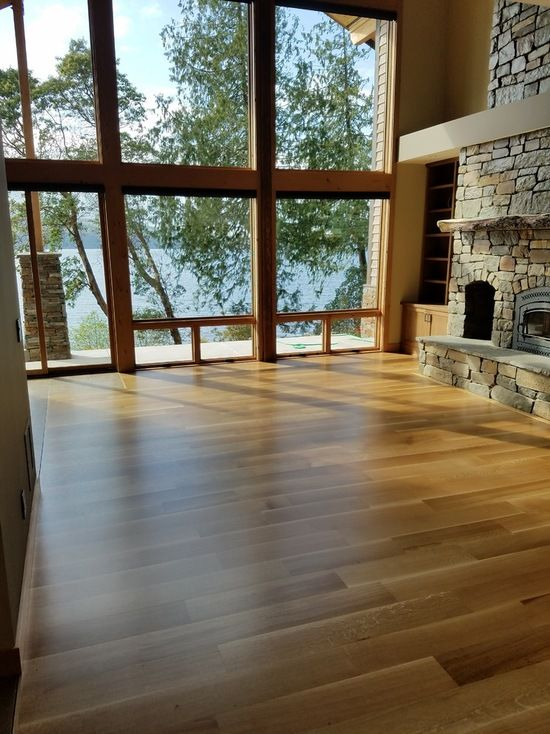 a customer in port townsend washington provided this photo of one of floors installed in their - Flooring And Decor