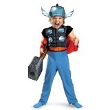 Disguise Thor Toddler Muscle Costume,Toddler: 3T-4T
