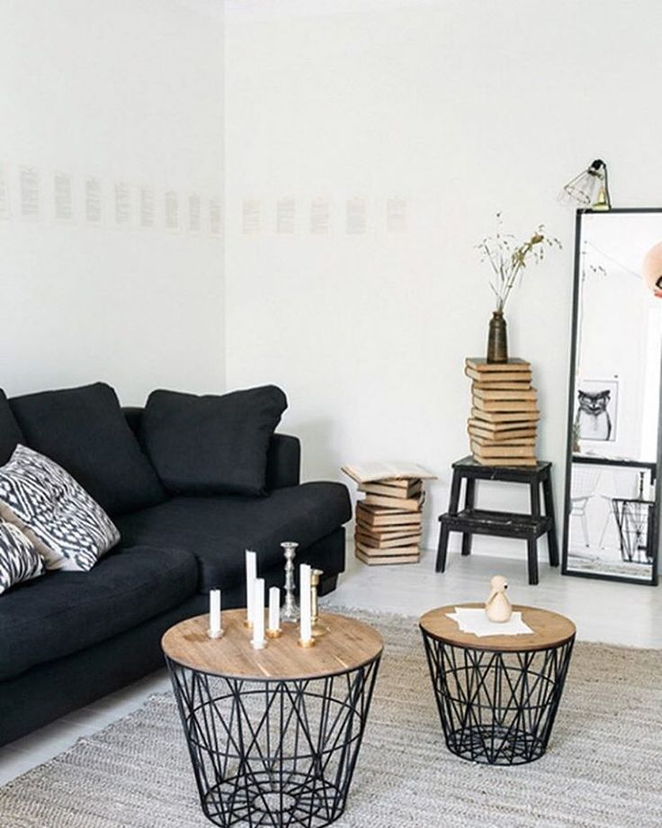 ferm LIVING Wire Basket and Wire basket top - perfect for storage AND sofa tables: http://www.fermliving.com/webshop/shop/wire-baskets.aspx