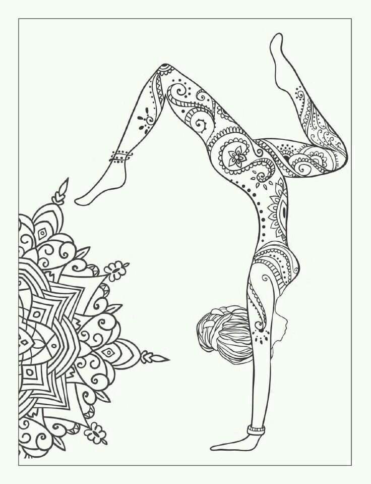 yoga coloring book for adults 18 best art is the journey of a free soul images on