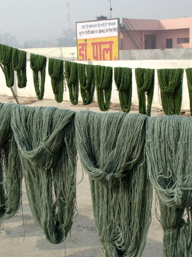 Fibers for our rugs - Fibras para nuestras alfombras Making of process  www.nanimarquina.com