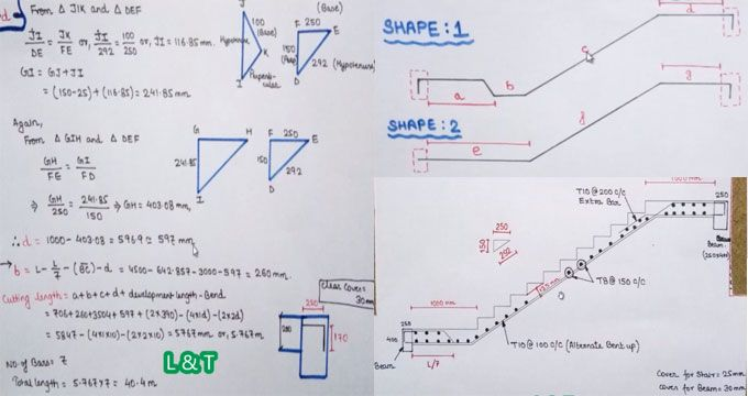 This construction video tutorial is the continuation of the video that focuses on bar bending schedule – stair reinforcement details theoretically. (https://www.youtube.com/watch?v=dUd6eTBDcjc). In this present video, one can learn how to use AutoCAD to produce bar bending schedule of staircase.