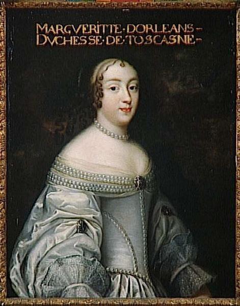 MARGUERITE-LOUISE D'ORLEANS, GRANDE DUCHESSE DE TOSCANE (1645-1721)