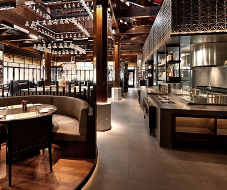 Asia pacific interior design award winners wine dine - Interior design for hotels and restaurants ...