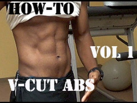 how to get v-cut abs.