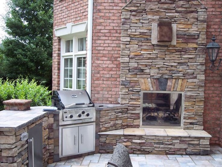 Exterior Fabulous Double Sided Indoor Outdoor Gas Fireplace From The Differences Of Indoor Outdoor Fireplace