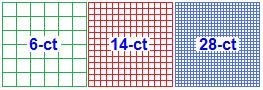 perfect website to print graph paper for cross stitching. actually uses 1/14 etc!