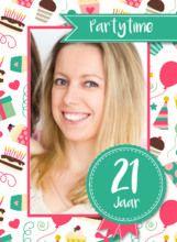 Uitnodiging verjaardag - Goedkoop uitnodigingen maken met Kaartenhuis