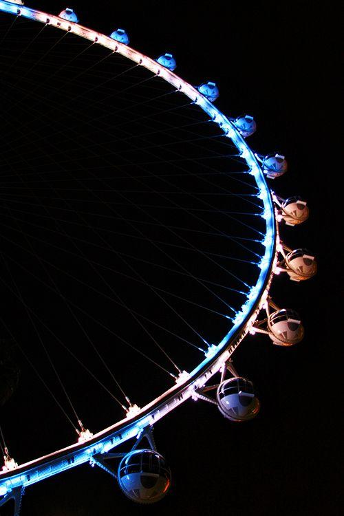 High Roller Ferris wheel in Las Vegas.
