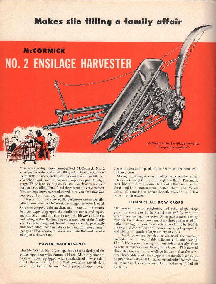 1949 McCormick Forage Harvester