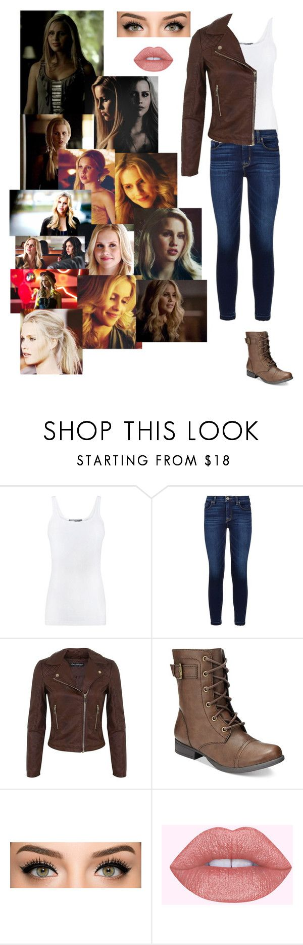 """Rebekah Mikaelson"" by avery-who ❤ liked on Polyvore featuring Vince, Hudson, Miss Selfridge and American Rag Cie"