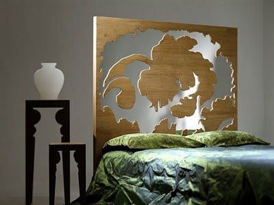 Is it a headboard? a room-divider? an art display? or All of the above?  You decide.