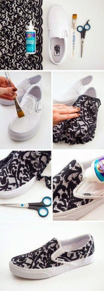 Tasarım Dünyası: Harika Ayakkabı Süsleme Örneği