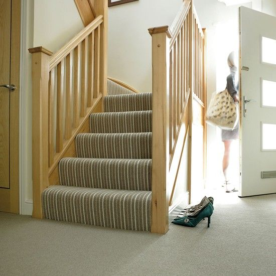 Amazing Natural Co Ordinates Striped Carpet In Seaweed From Victoria Carpets |  Bargain Carpets   Our