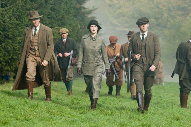 Hunting, Iain Glen, Michelle Dockery and Richard Carlisle
