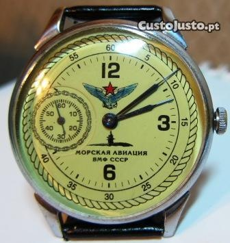 Relógio militar russo MOLNIYA (aviação naval) raroAviação Naval, Russo Molniya, Molniya Aviação, Militar Russo, Relógios Militar