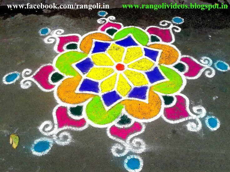 Diwali Rangoli Designs Kolam designsVideos