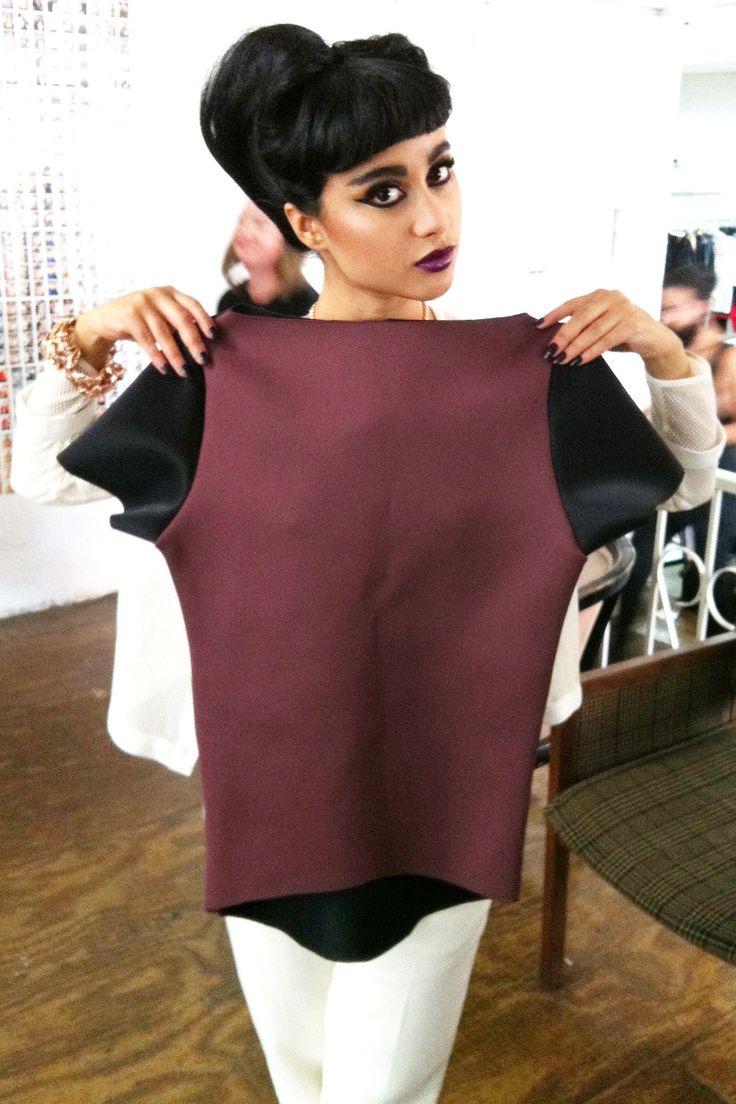 one of my fashion idols >> Natalia Kills w/SameDNA tee