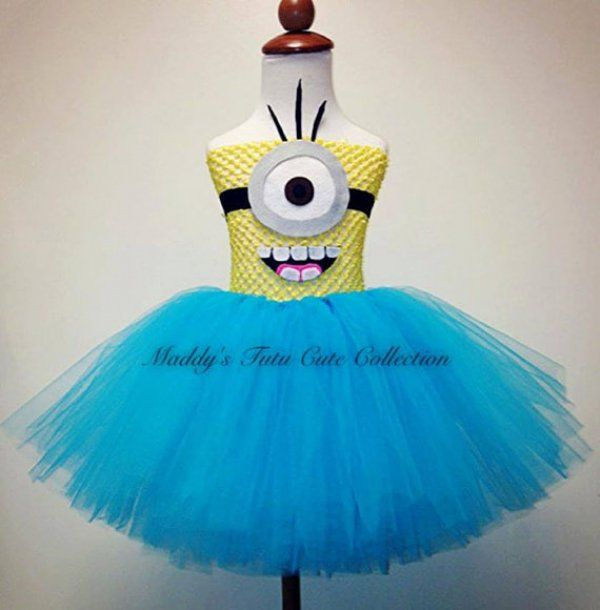 Minion Running Tutu Idea for when we do another Marathon Relay!