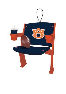 Evergreen  Auburn Tigers Stadium Chair Ornament