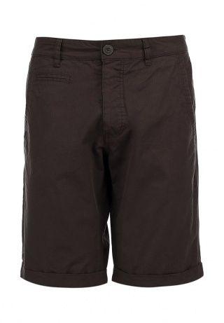 Шорты цвета хаки от Sela. Модель выполнена из плотной хлопковой ткани. Детали: прямой крой, штанины с отворотами, застежка на пуговицы. http://j.mp/1lz2gXb