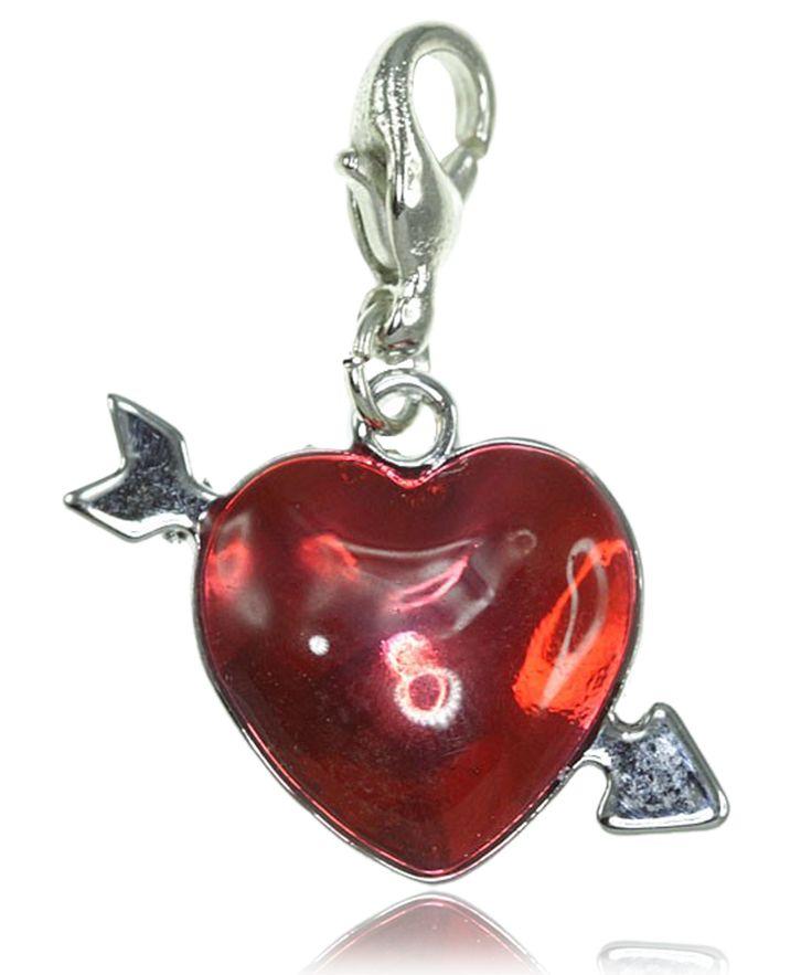 Charm coeur rouge - So Charm