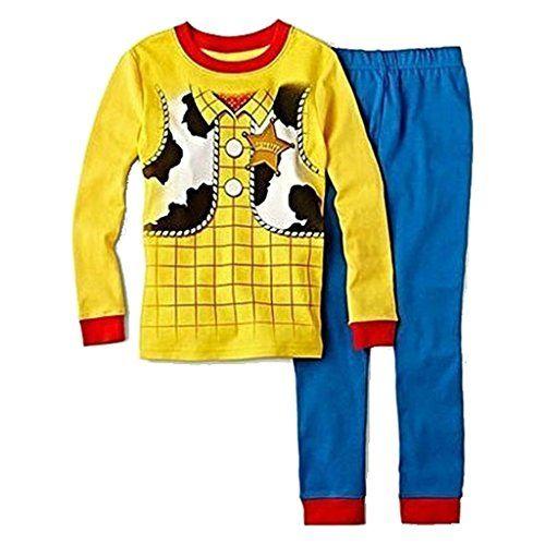 DISNEY TOY STORY Boys Size 6 SHERIFF WOODY Pajama Pants Set @ niftywarehouse.com