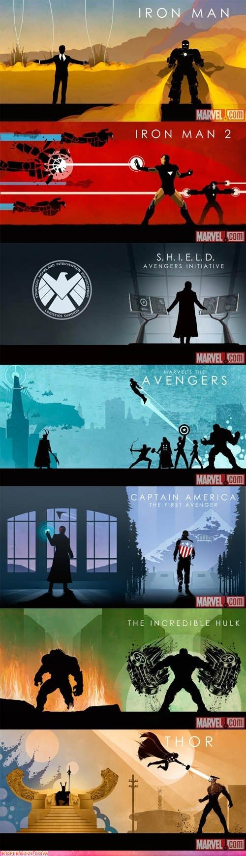 Matthew Ferguson designed these awesome Avengers themed disc sleeves. Now all he needs is Black Widow and Hawkeye...